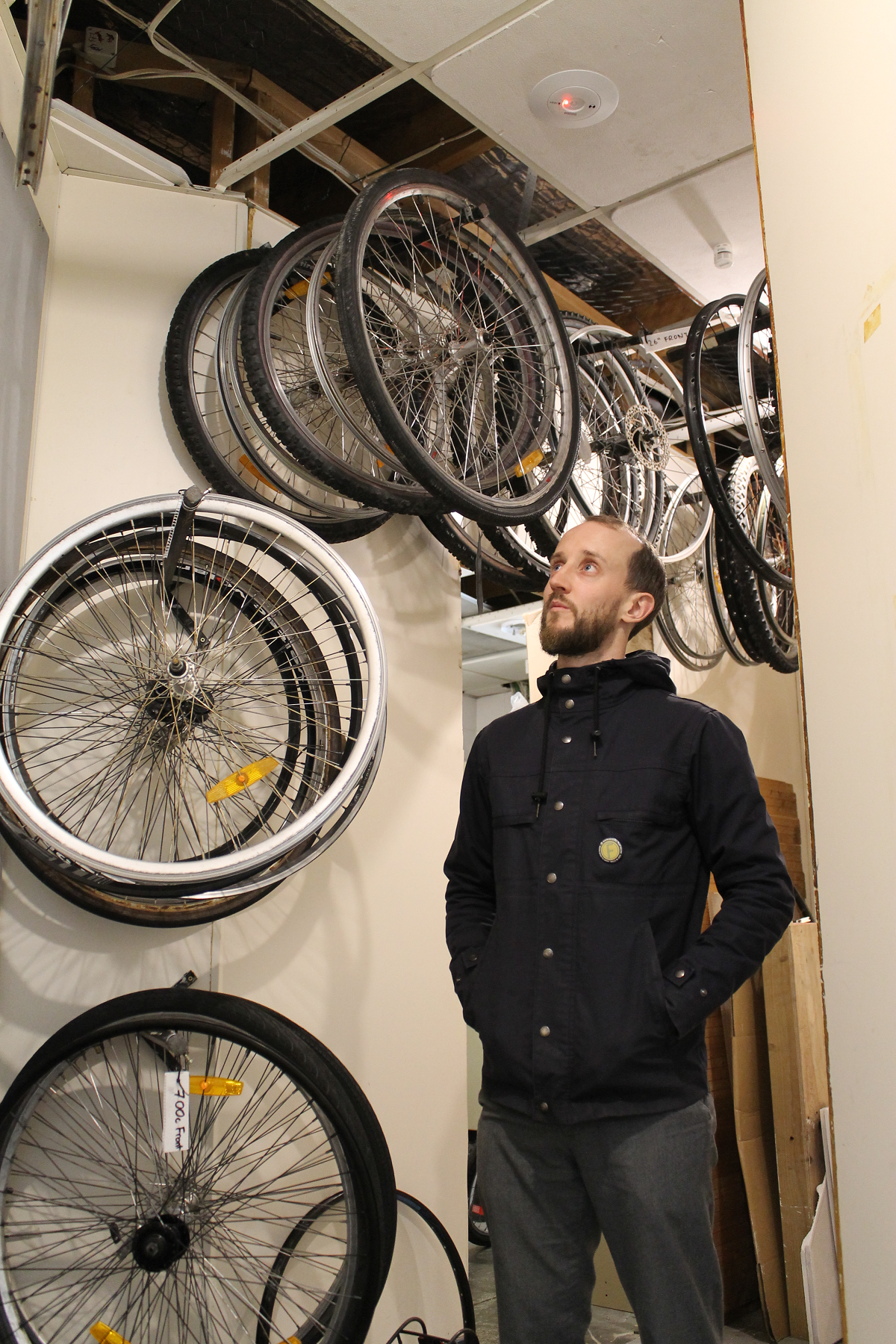Mark Johnson, Mechanical Tempest, community bike workshop