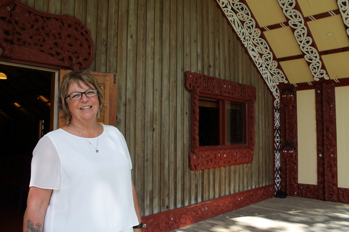 Marie Cocker, Director of Te Herenga Waka Marae at Victoria University